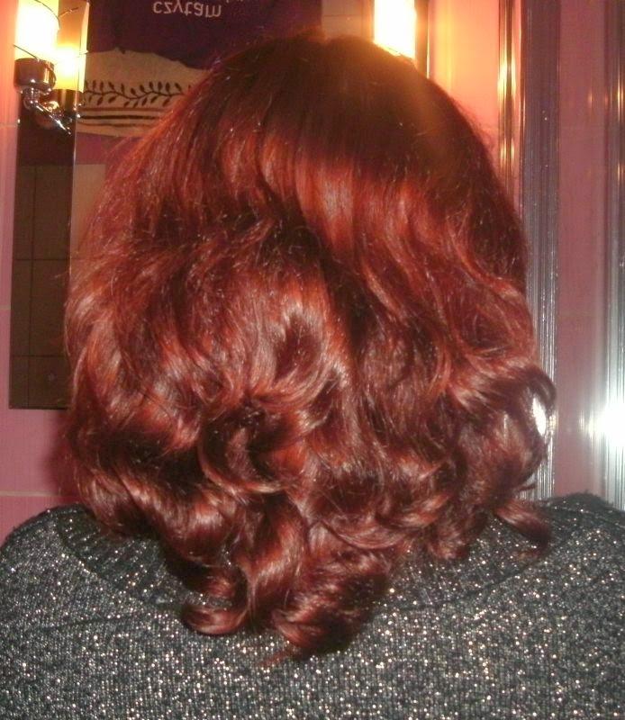Niedziela dla włosów z odżywką odbudowującą z yves rocher i NMF