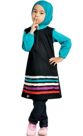 Baju Muslim Anak Zoya untuk anak perempuan