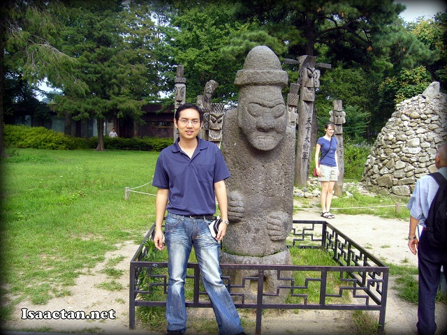 Isaac Tan in Korea