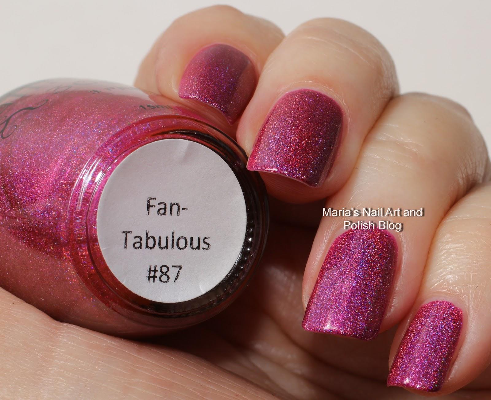 Marias Nail Art and Polish Blog: NailNation 3000 Fan-Tabulous swatches