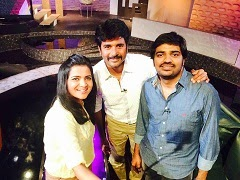 Koffee With DD Season 2 ,01-03-2015,Koffee With DD With Sivakarthikeyan And Comedy Actor Sathish Today Program with DD, Vijay Tv, Watch Online Koffee With DD