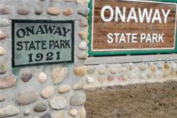 Onaway State Park pavilion