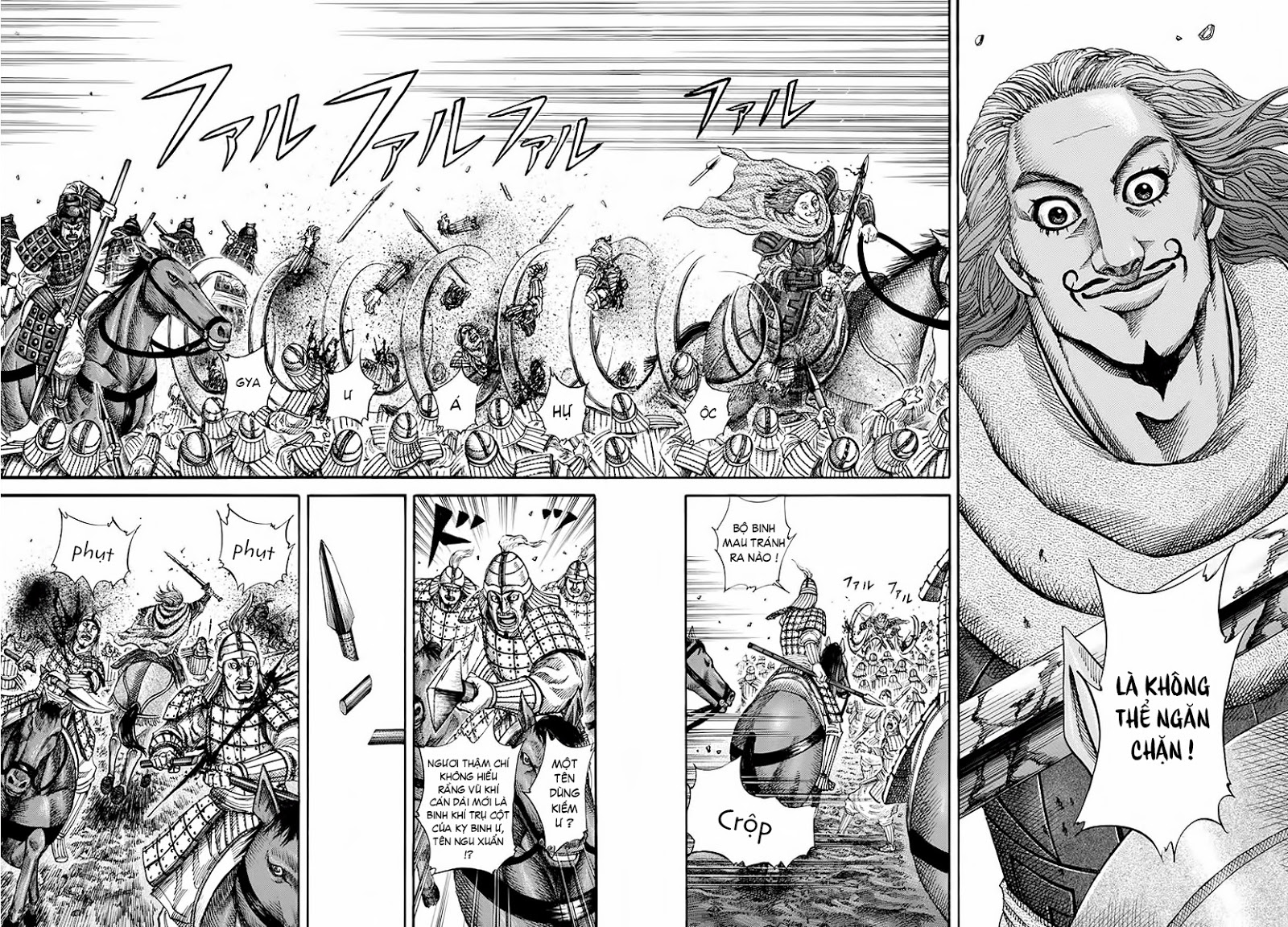 Kingdom – Vương Giả Thiên Hạ (Tổng Hợp) chap 158 page 4 - IZTruyenTranh.com