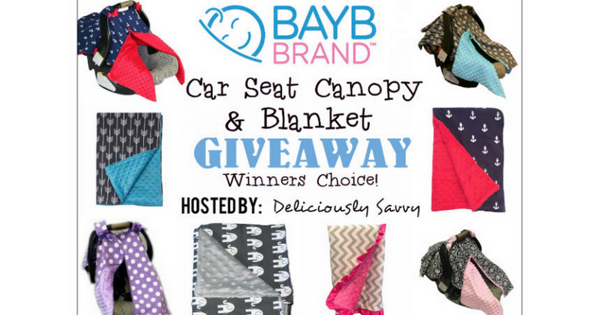 Bayb Brand Car Seat Canopy and Blanket