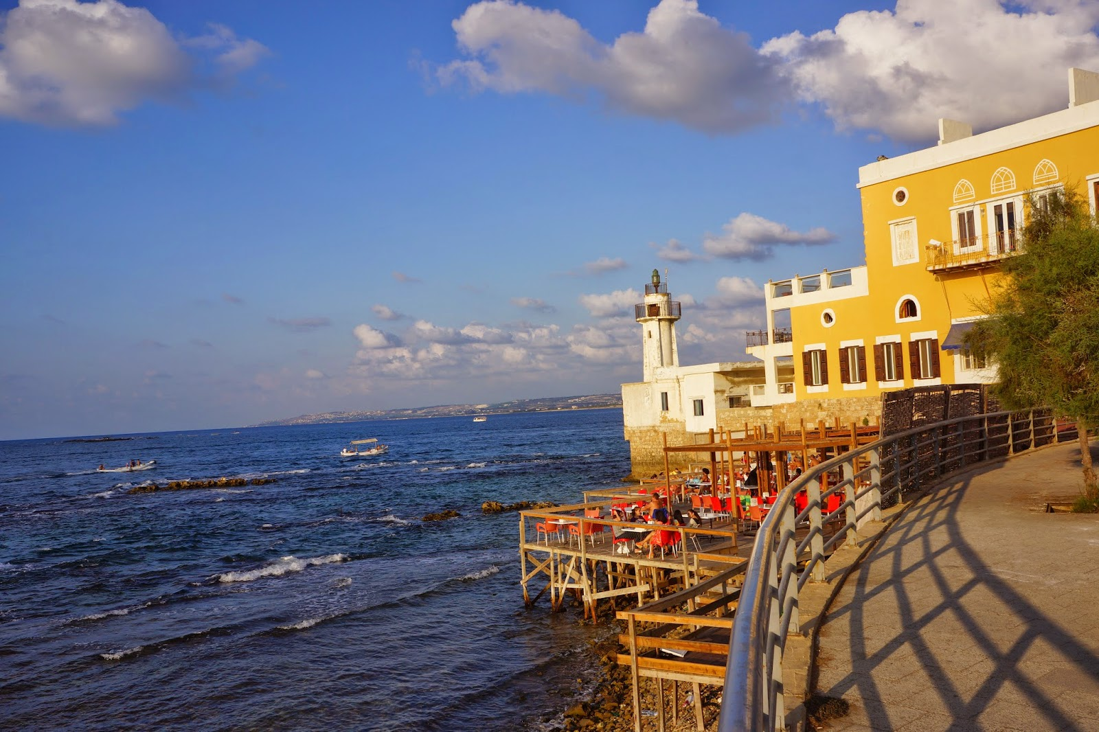 Sour Lebanon  city photos : ... of the lighthouse and Al Fanar Hotel in Tyre Sour , South Lebanon