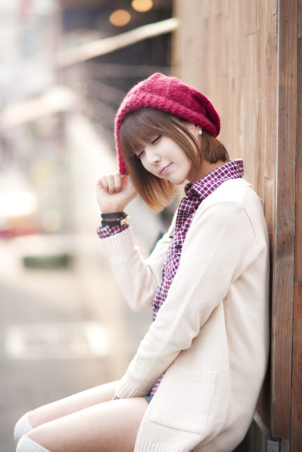 2 Heo Yoon Mi - Outdoor-very cute asian girl-girlcute4u.blogspot.com