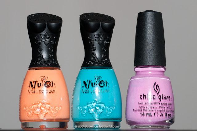 Nfu-Oh MOR02 China Glaze Dance Baby Nfu-Oh MOR10