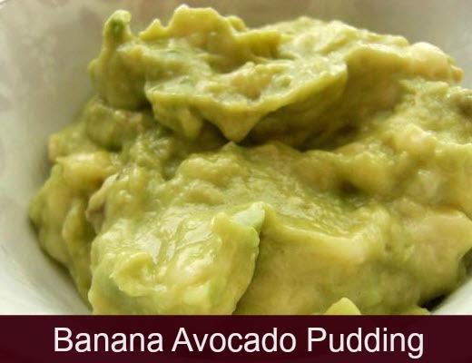 avocado 1/2 to whole banana mashed Couple drops stevia 1 tsp Cacao ...