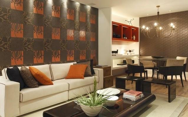 Sala de jantar e estar no mesmo ambiente? ~ Blog JBA Imóveis -> Decoração De Sala De Jantar E Estar No Mesmo Ambiente