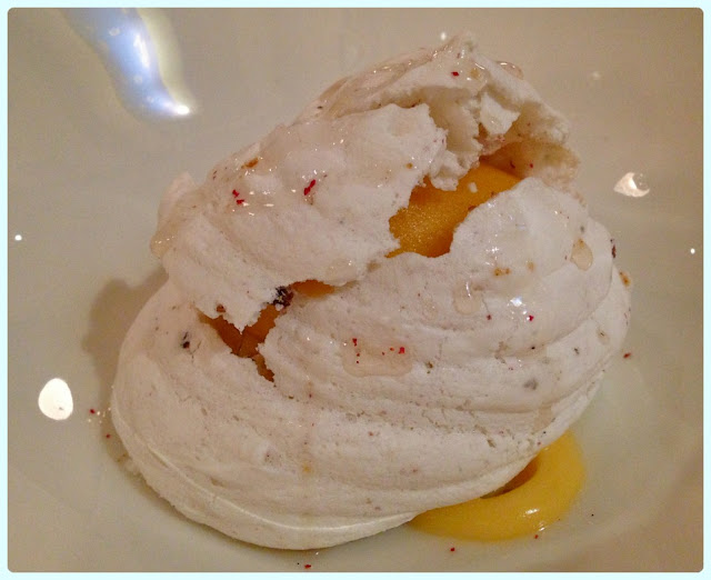 Little Social, London - Peppercorn meringue
