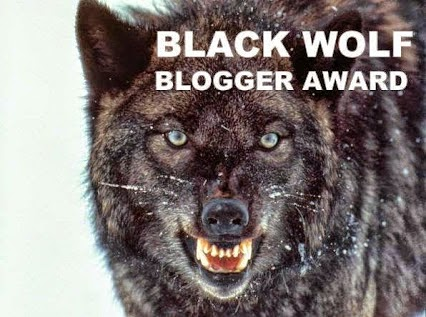 BLACK WOLF Bloggers award