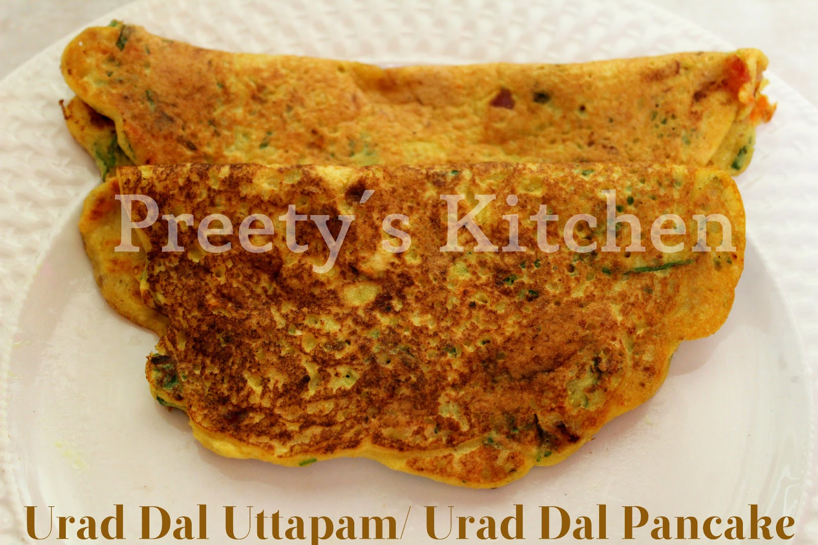 Urad Dal Uttapam   Urad Dal Pancake  Step By Step Recipe Urad Dal Recipe