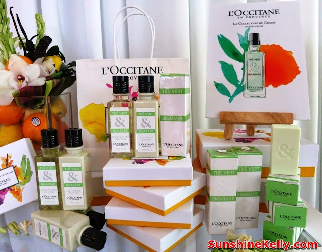 L'Occitane La Collection de Grasse Fragrance, Thé Vert & Bigarade, L'Occitane, Fragrance, new products, product launch, zebra square kl