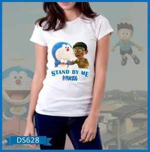 Baju Wanita Doraemon & Nobita keren, bahan bagus