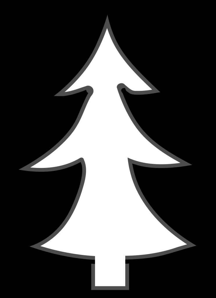 clipart-christmas-tree-outline-christmas-tree-outline-clip-art1 ...
