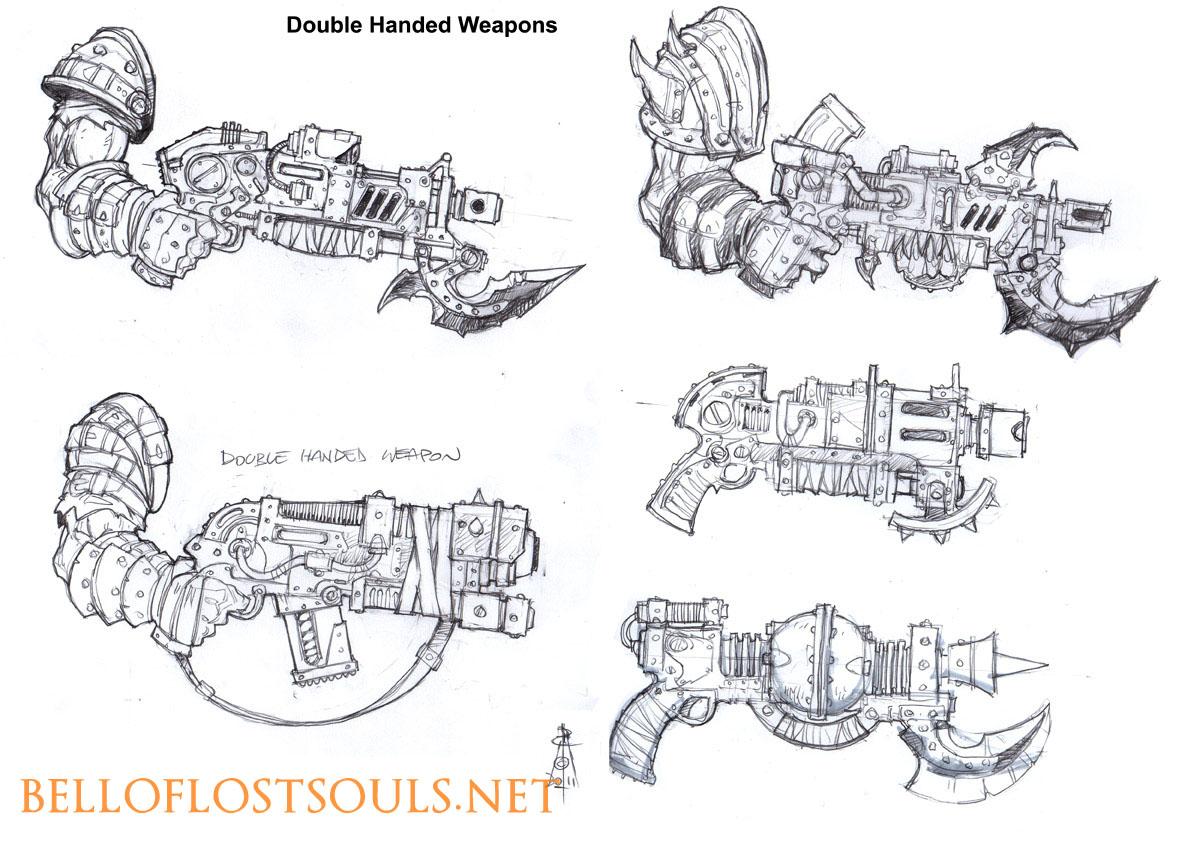 [mantic] fait des orks... premières photos! Marauder+Trooper+Double+Handed+Weapons