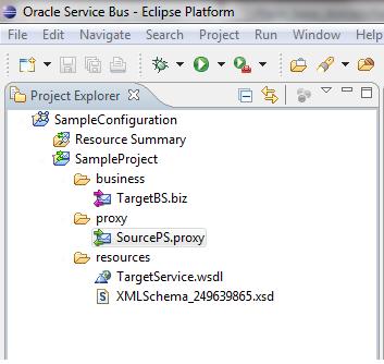 OSB Eclipse Debugger Sample Project