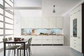 Italian White Kitchen Cabinets