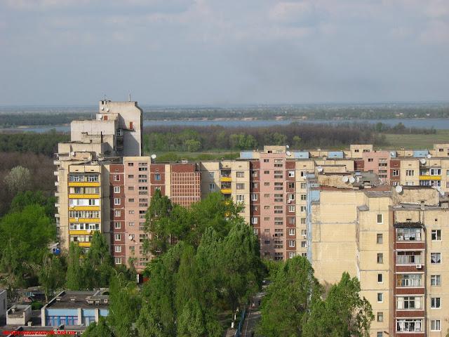 Весна в Днепродзержинске. Фото 3.