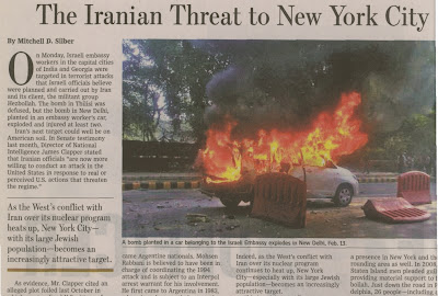 la proxima guerra propaganda guerra contra iran amenaza contra nueva york periodico foto