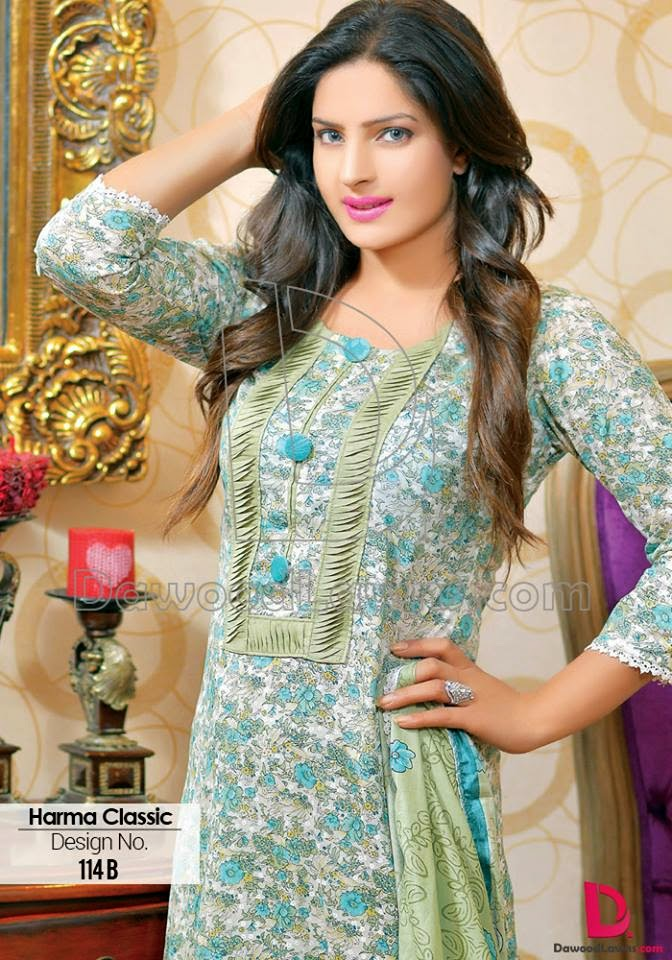 Pakistani lawn collection clothes