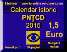 Calendar istoric PNŢCD 2015