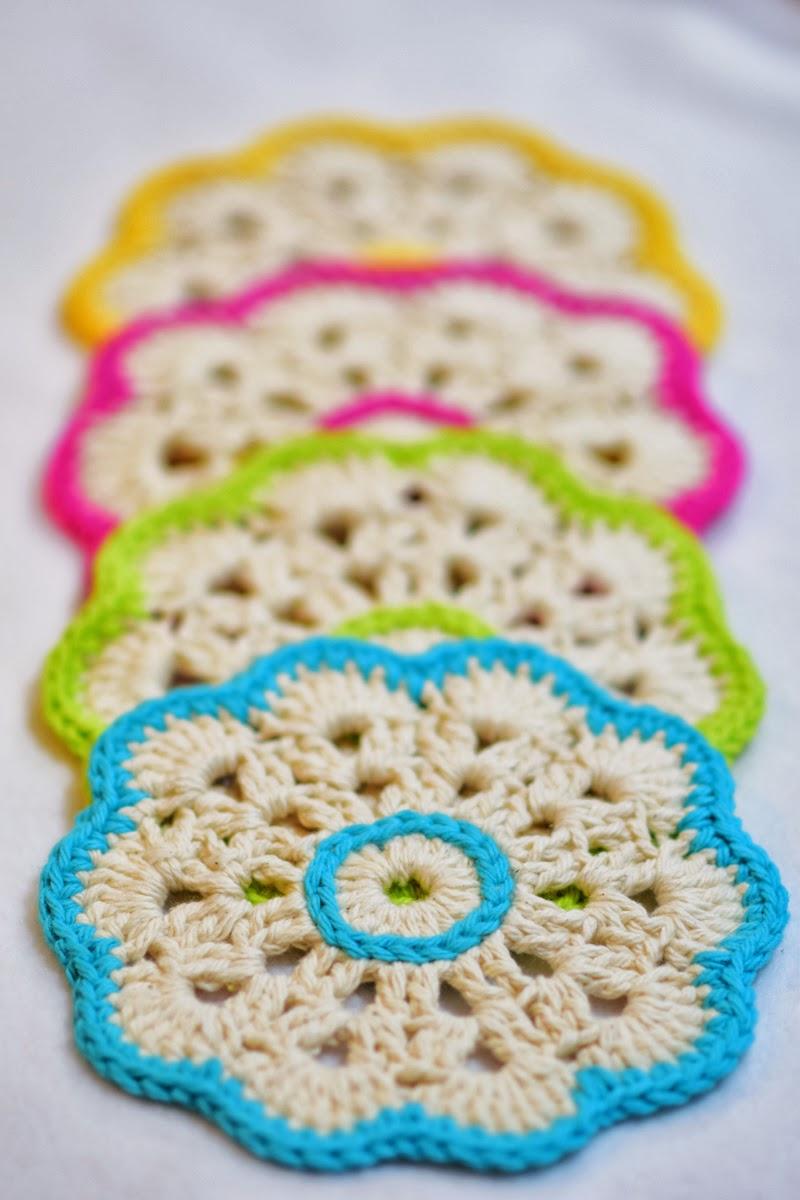 Cynthias Handiwork: Beautiful Crochet Coasters