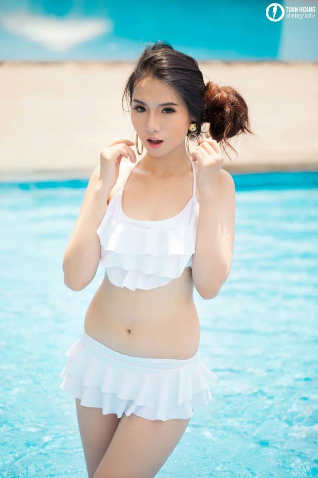 Ảnh gái đẹp HD Mitu Kat mùa hè năng động 1