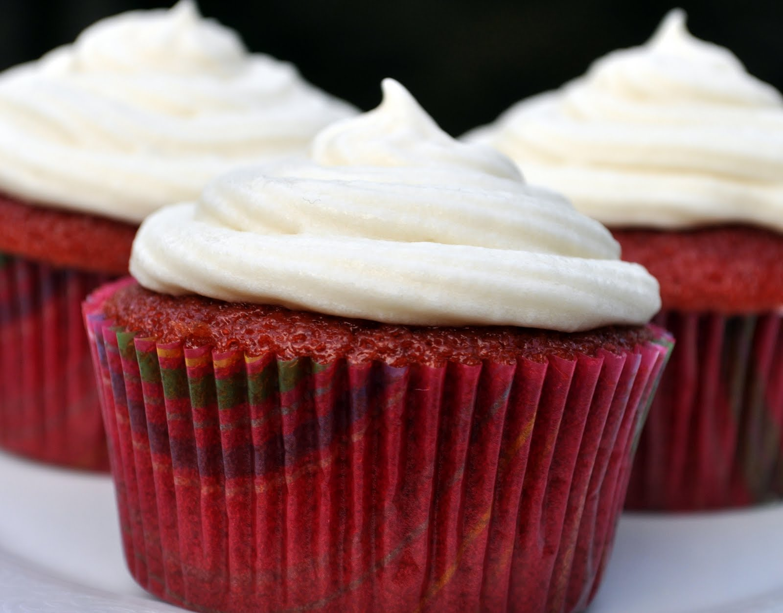 Our Italian Kitchen: Stuffed Red Velvet Cupcakes with ...