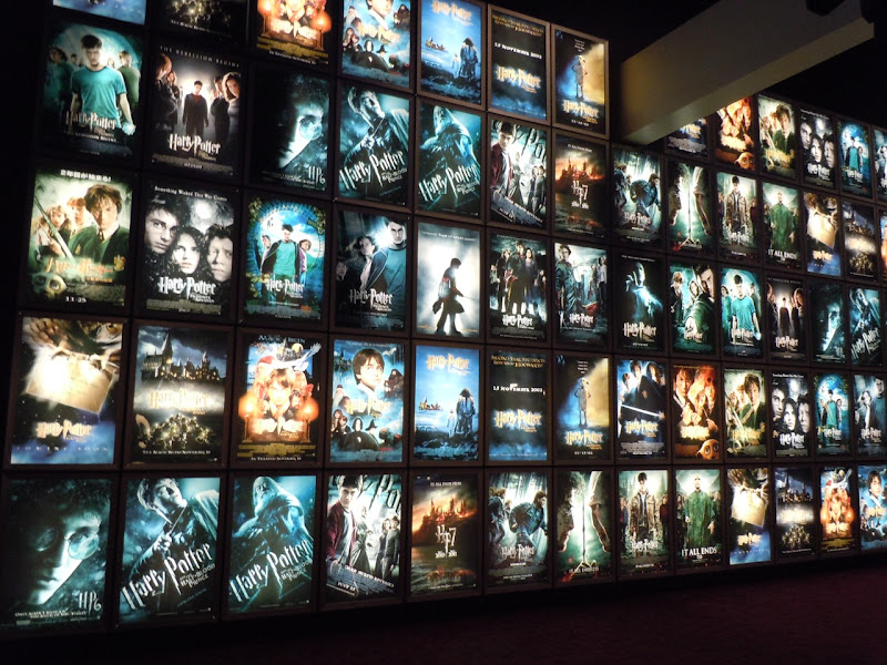 Harry Potter ArcLight poster wall