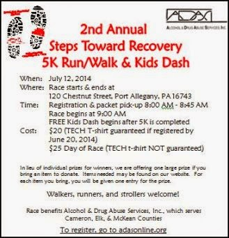 7-12 5K Run/Walk Port Allegany