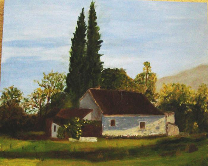 Marinela y sus pinturas casa de campo for Pinturas para casas de campo