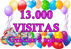 13.000 visitas
