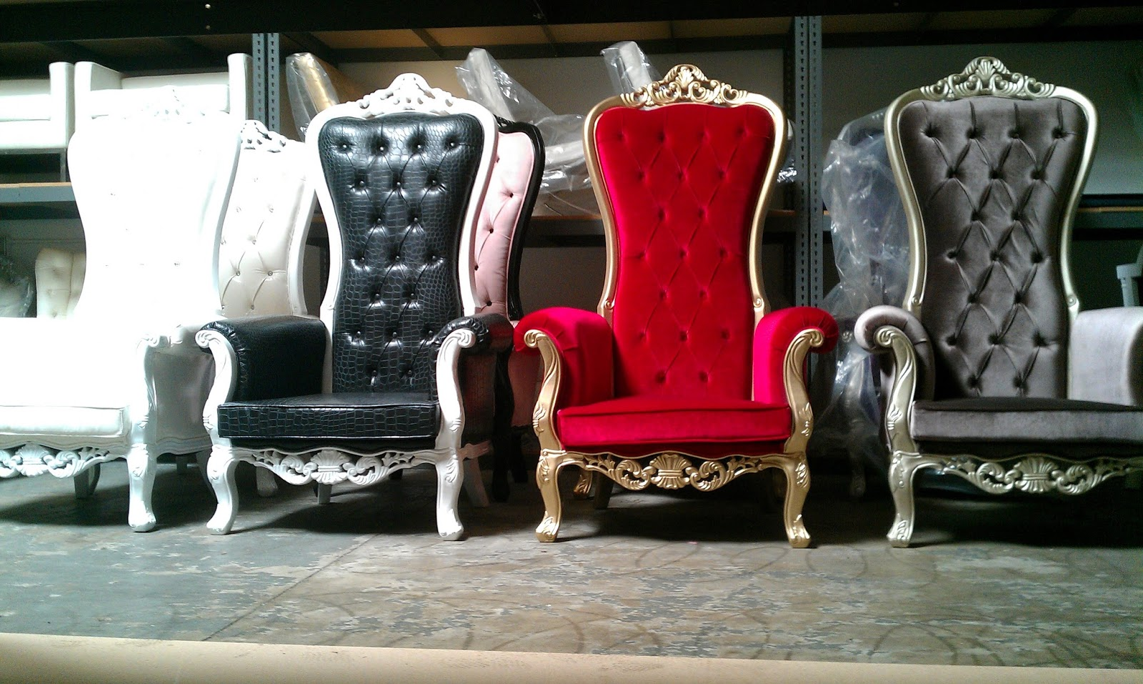 The Mod Spot MCR 1 Throne Rental Prop pany in OC