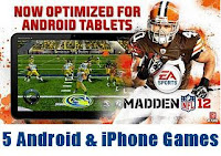 5 Top Android and iPhone Games Releasing In 2012