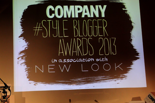 company style blogger awards 2013