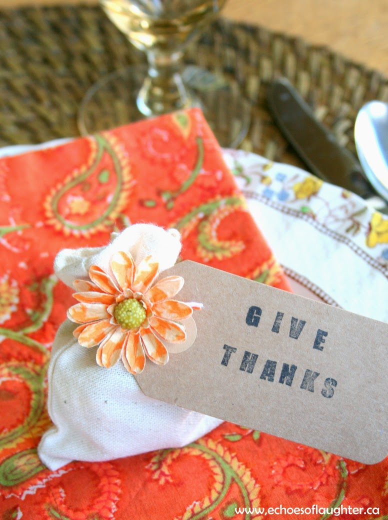 Thanksgiving Table Favors