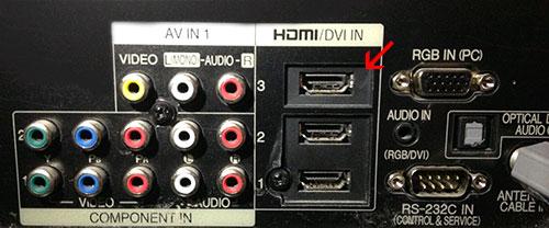 Hướng dẫn cách kết nối desktop hay laptop với Tivi 2