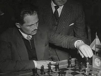 Partida Francisco José Pérez vs. Eduardo Franco en el II Torneo Internacional de Ajedrez Madrid 1957