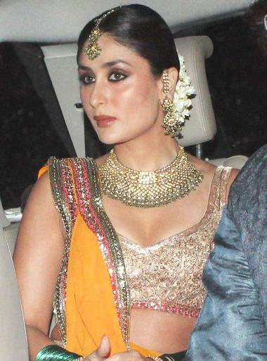 Saif Ali Khan and Kareena Kapoor marriage Images and Photos
