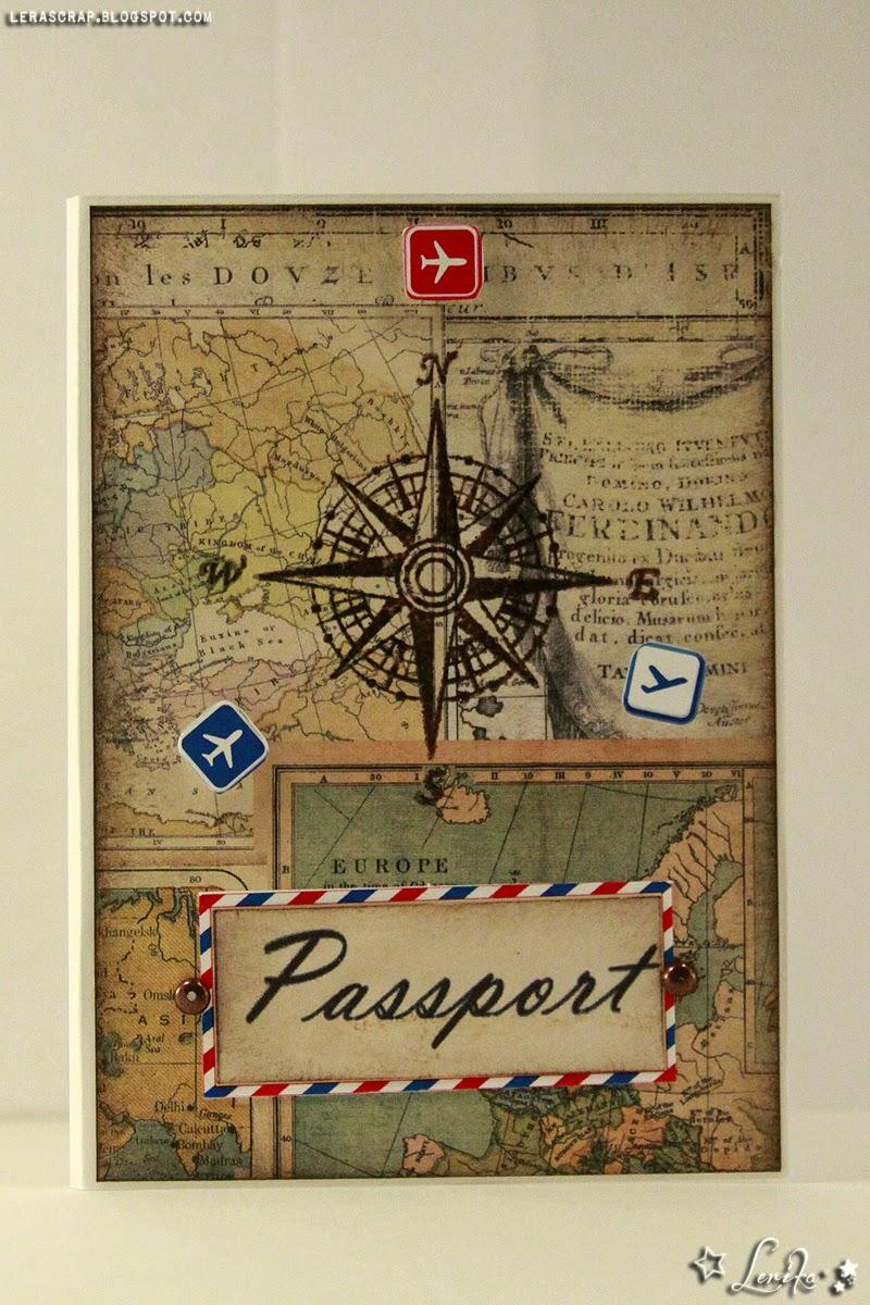 Обложка на паспорт своими руками скрапбукинг фото 305