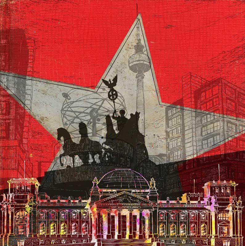 Berlin-Kunst - große Bilder
