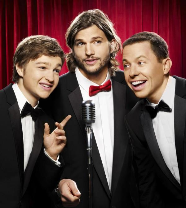 Ashton Kutcher Two And A Half Men Ponytail