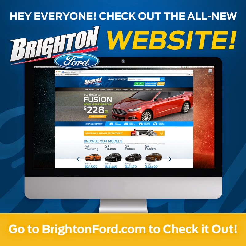 Newly Designed BrightonFord.com is LIVE!