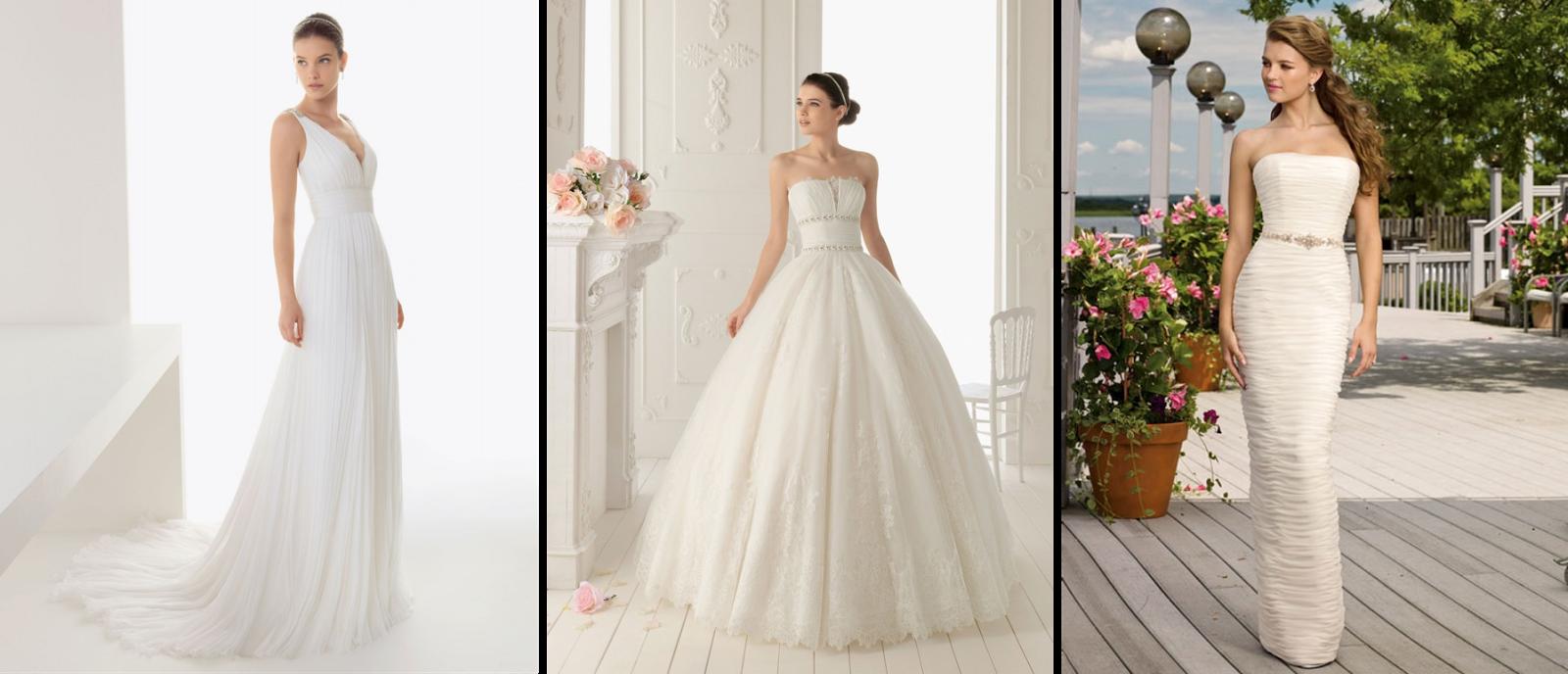 Corte imperio, ball gown o tubo para un vestido de novia