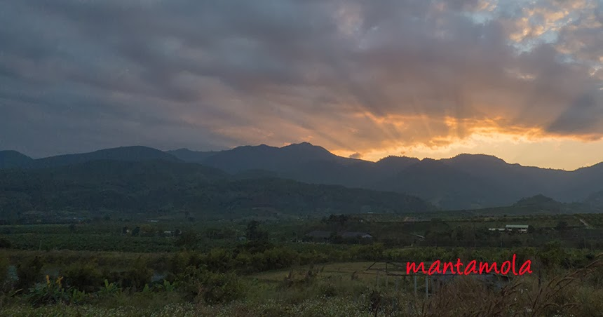 Sun set at Doi Lang