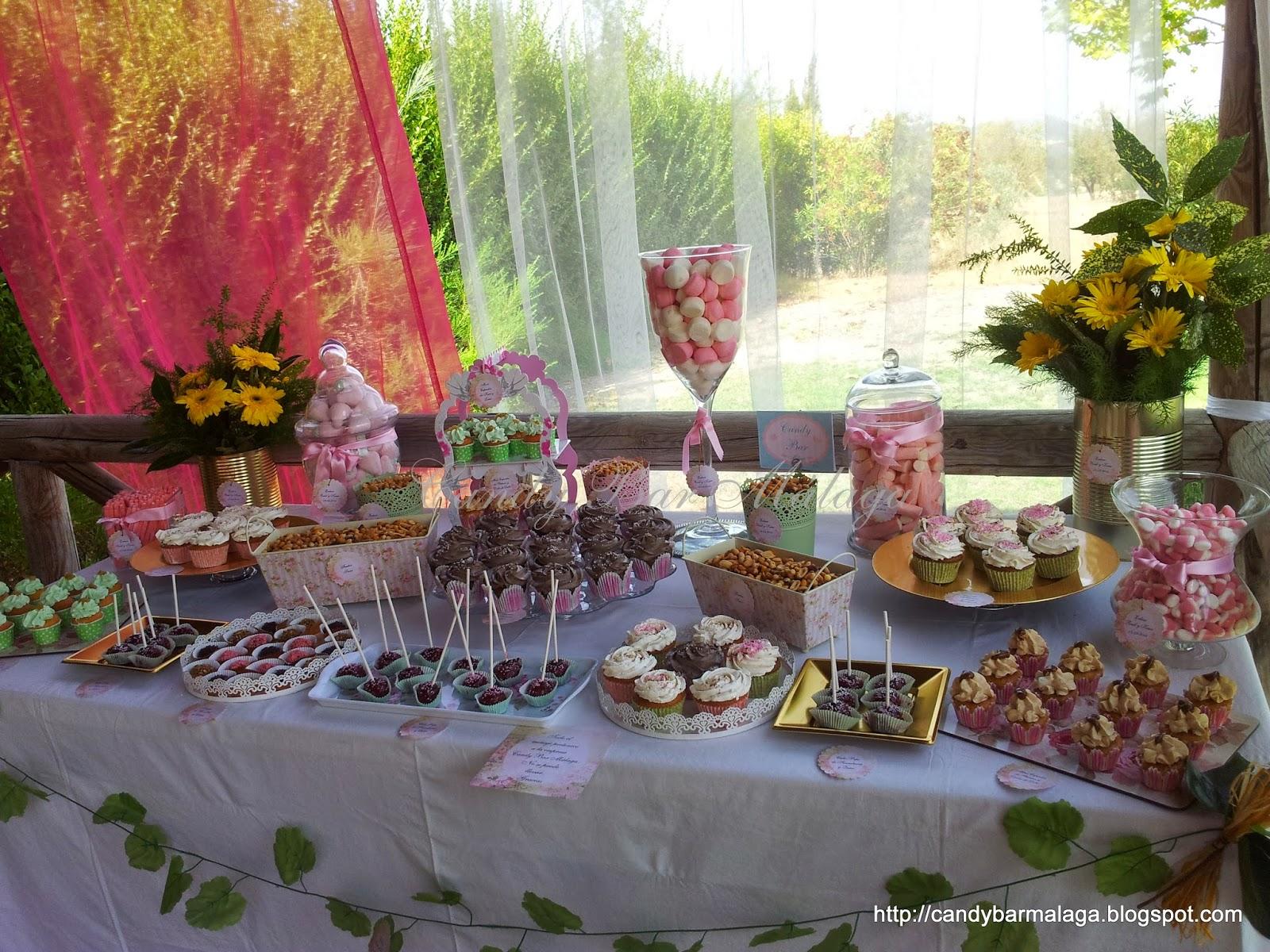 Candy bar m laga mesa dulce boda de ra l y kesia - Decoracion malaga ...