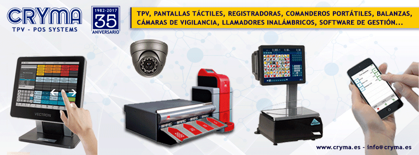 CRYMA especialistas en Tpv y Registradoras Malaga