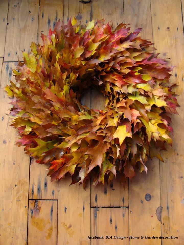 """Enfeite De Outono ~ Um jardim para cuidar Enfeite a sua casa""""com o Outono"""""""