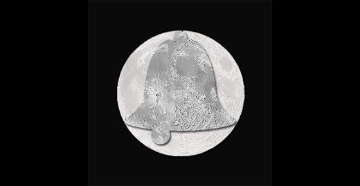 La Luna es hueca